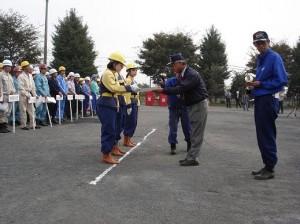 第23回自衛消防隊消火競技会2